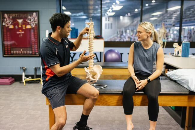 Results Physiotherapy professionals